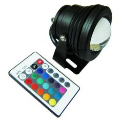 LAMPADA LED RGB 10W PISCINA...